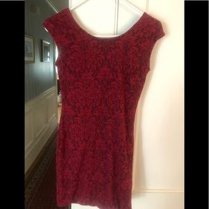 Windsor red lace dress